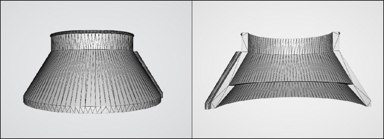マキタ サイクロンアタッチメント用シェード(3Dプリント)