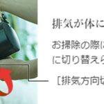 PV-BH500H/PV-BH900H(排気方向切替シャッター)