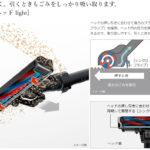 ラクかるスティック/PV-BL2H(パワフルスマートヘッド light)