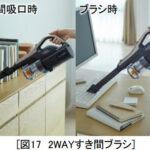 パワかるスティック/PV-BL30H(2WAYすき間ブラシ)