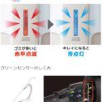 MC-SB85K・MC-SB65J(クリーンセンサー)
